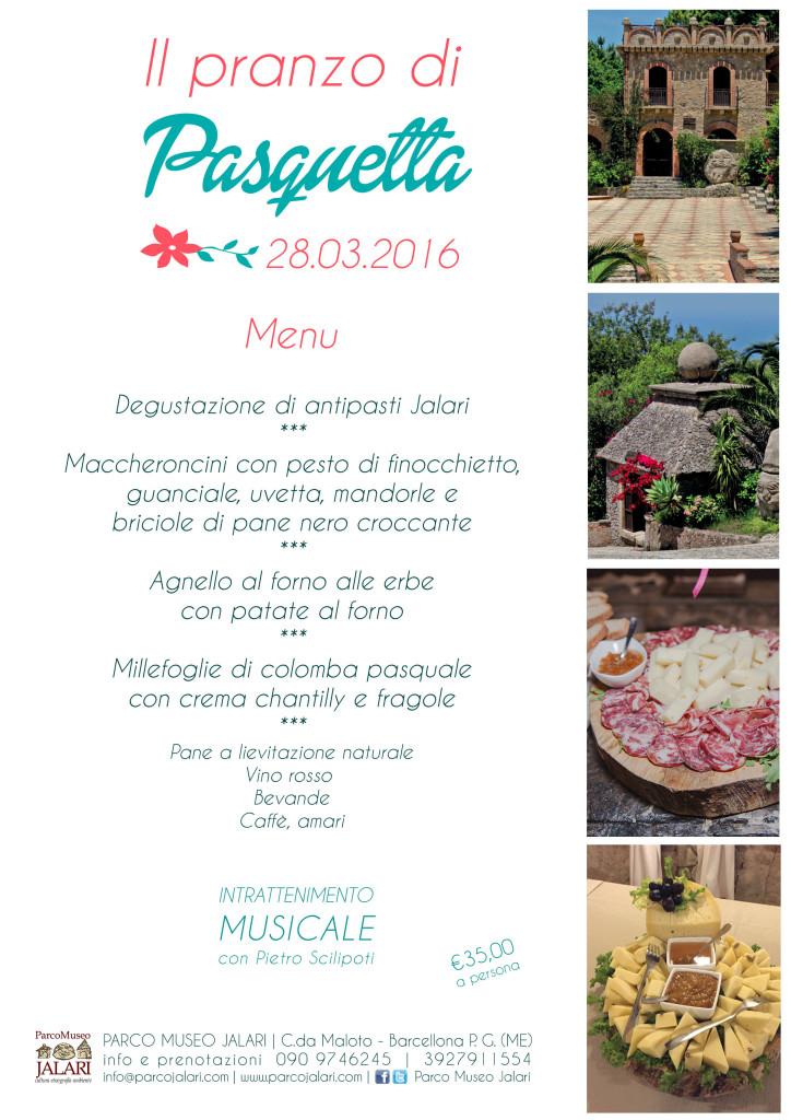 Pasquetta pranzo Parco Jalari