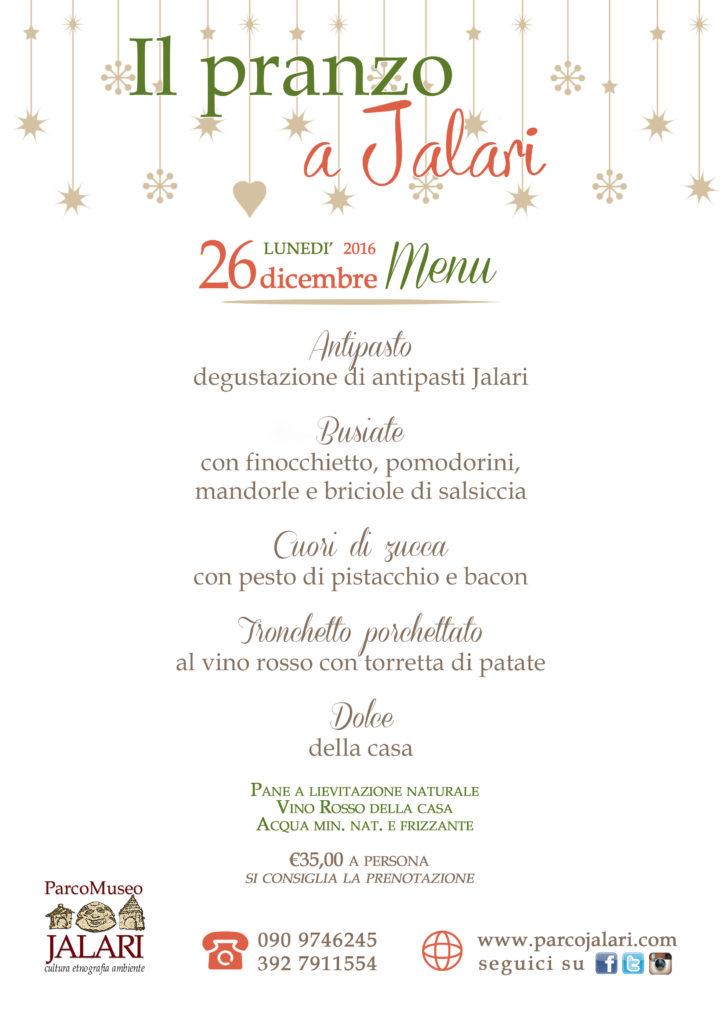 Pranzo 26 dicembre bioagriturismo Jalari, Parco Museo Jalari, Barcellona Pozzo di Gotto (Messina)