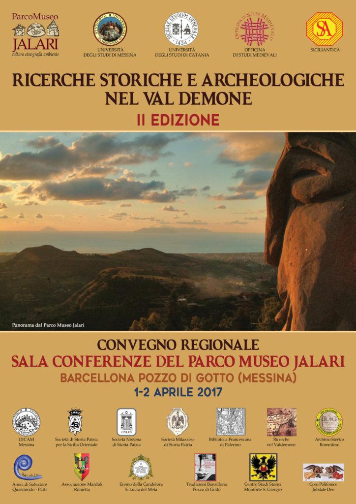 Ricerche storiche e archeologiche nel Val Demone convegno regionale
