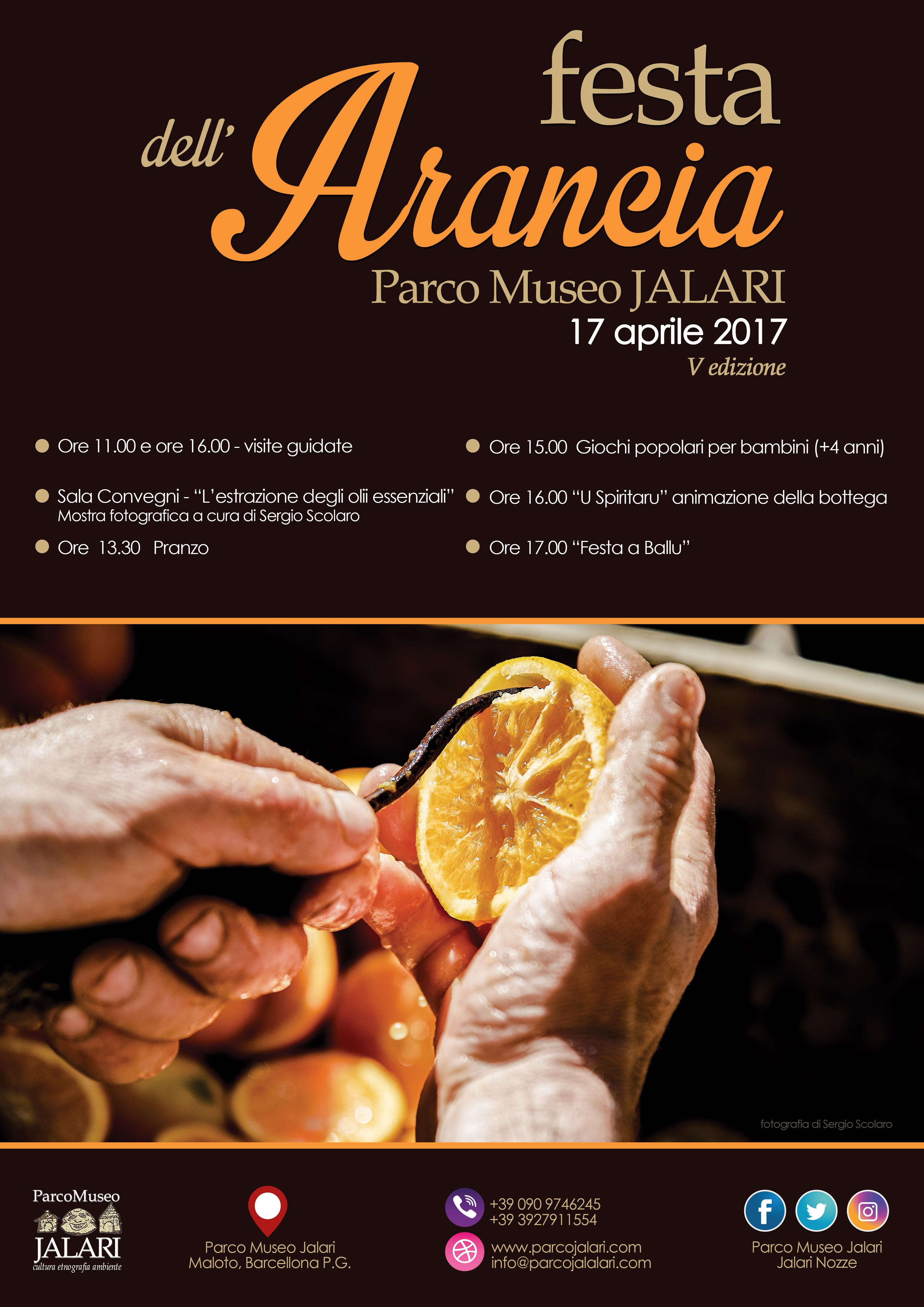 Pasquetta 2017 e Festa dell'Arancia 2017 Parco Museo Jalari