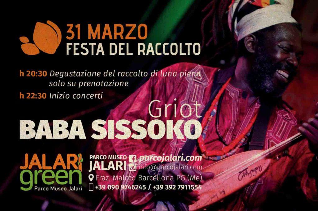 maestro Baba Sissoko al Parco Museo Jalari