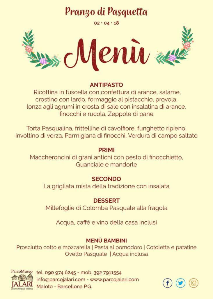 Pranzo di Pasquetta 2018