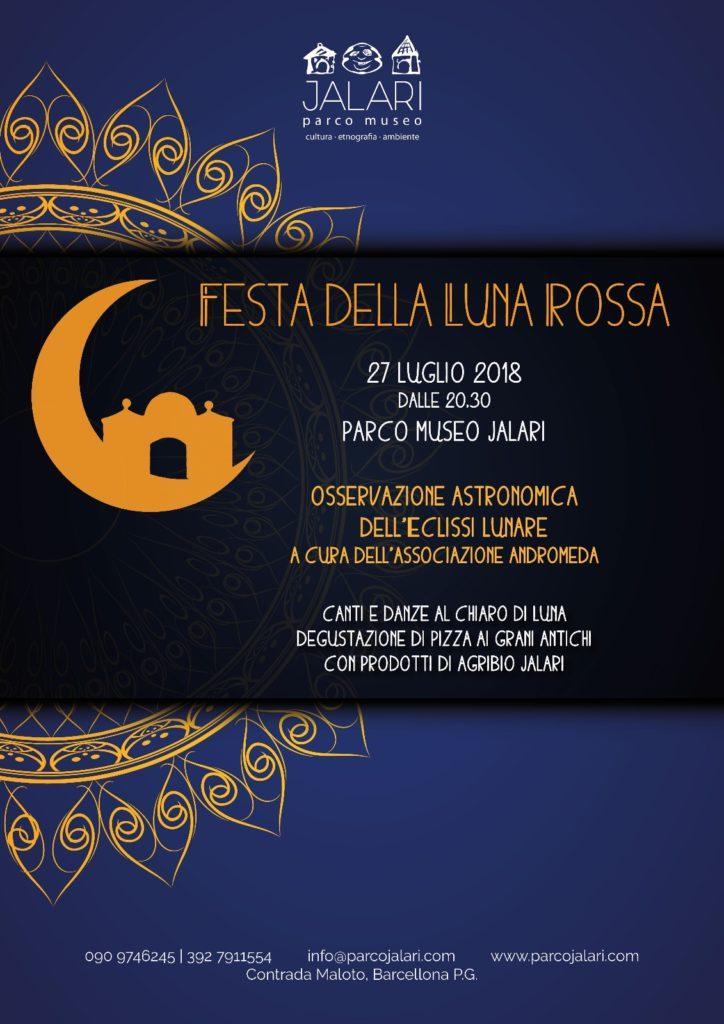 Festa della Luna Rossa al Parco Museo Jalari
