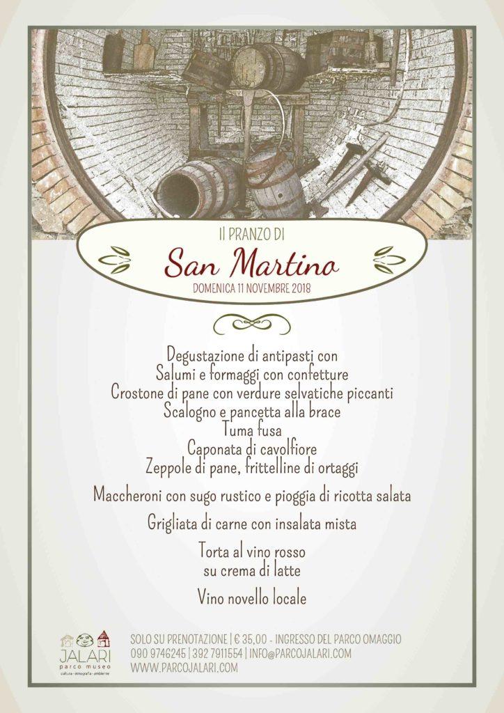 Pranzo di San Martino al Parco Museo Jalari