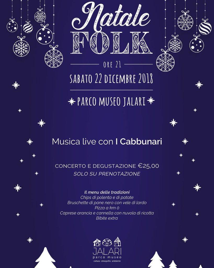 Natale Folk al Parco Museo Jalari
