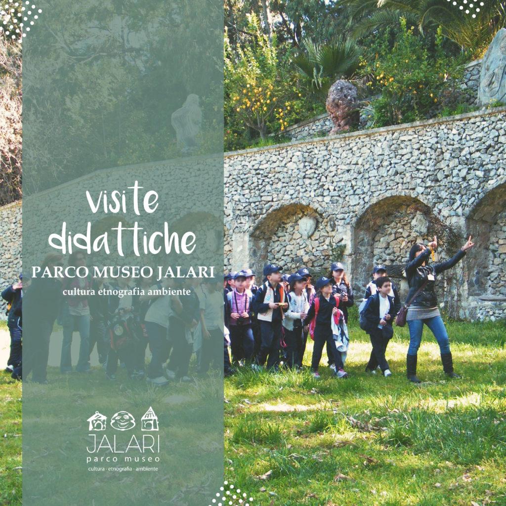 percorsi didattici per la scuola al Parco Museo Jalari