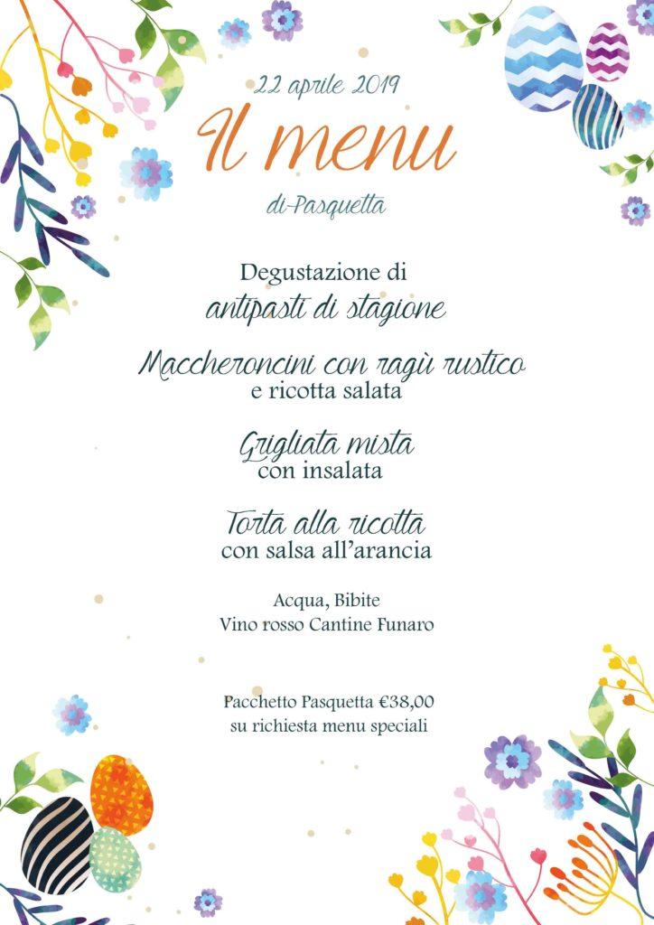 Pasquetta 2019 menu Parco Museo Jalari Barcellona Pozzo di Gotto Messina
