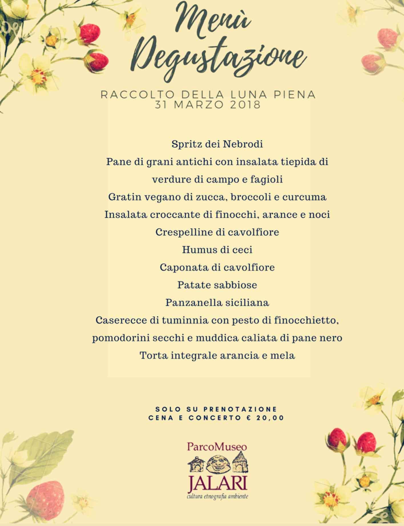 Festa del Raccolto 31 marzo al Parco Museo Jalari (Messina, Sicilia)