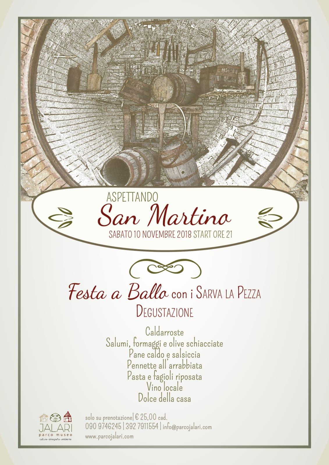 Festa a ballo aspettando San Martino al Parco Museo Jalari